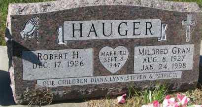 GRAN HAUGER, MILDRED - Yankton County, South Dakota | MILDRED GRAN HAUGER - South Dakota Gravestone Photos