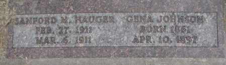JOHNSON, GENA - Yankton County, South Dakota   GENA JOHNSON - South Dakota Gravestone Photos