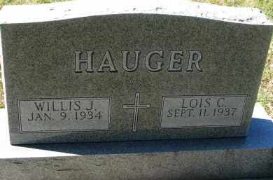 HAUGER, LOIS C. - Yankton County, South Dakota | LOIS C. HAUGER - South Dakota Gravestone Photos
