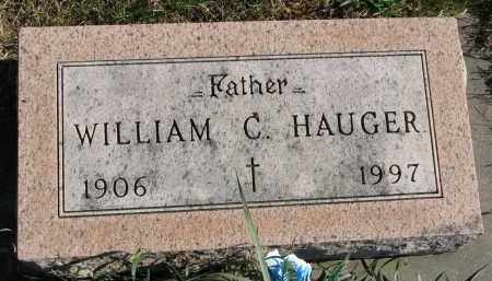 HAUGER, WILLIAM C. - Yankton County, South Dakota | WILLIAM C. HAUGER - South Dakota Gravestone Photos