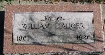 HAUGER, WILLIAM - Yankton County, South Dakota | WILLIAM HAUGER - South Dakota Gravestone Photos