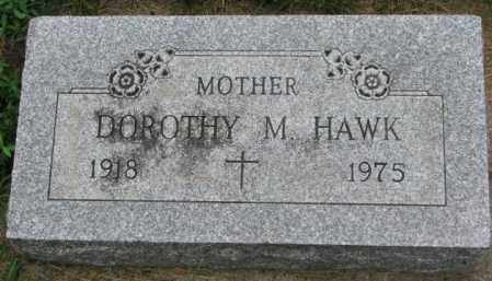 HAWK, DOROTHY M. - Yankton County, South Dakota | DOROTHY M. HAWK - South Dakota Gravestone Photos