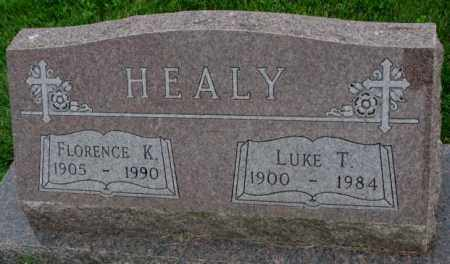 HEALY, FLORENCE K. - Yankton County, South Dakota | FLORENCE K. HEALY - South Dakota Gravestone Photos