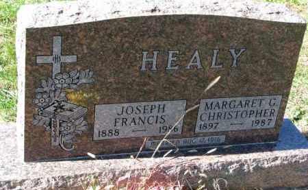 HEALY, JOSEPH FRANCIS - Yankton County, South Dakota | JOSEPH FRANCIS HEALY - South Dakota Gravestone Photos