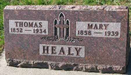 HEALY, MARY - Yankton County, South Dakota | MARY HEALY - South Dakota Gravestone Photos