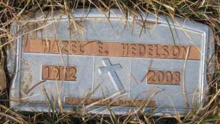 HEDELSON, HAZEL E. - Yankton County, South Dakota | HAZEL E. HEDELSON - South Dakota Gravestone Photos