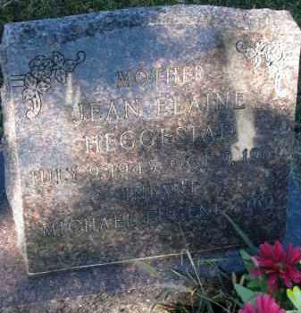 HEGGESTAD, JEAN ELAINE - Yankton County, South Dakota | JEAN ELAINE HEGGESTAD - South Dakota Gravestone Photos