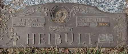 HEIBULT, HERMAN - Yankton County, South Dakota | HERMAN HEIBULT - South Dakota Gravestone Photos