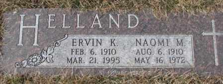 HELLAND, ERVIN K. - Yankton County, South Dakota | ERVIN K. HELLAND - South Dakota Gravestone Photos