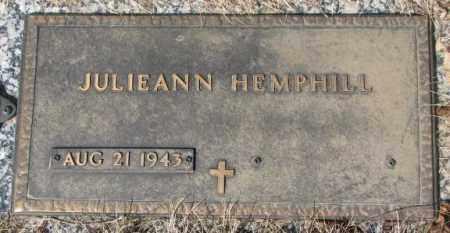 HEMPHILL, JULIEANN - Yankton County, South Dakota   JULIEANN HEMPHILL - South Dakota Gravestone Photos