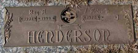 HENDERSON, ARDIS D. - Yankton County, South Dakota | ARDIS D. HENDERSON - South Dakota Gravestone Photos