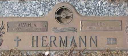 HERMANN, LEA - Yankton County, South Dakota | LEA HERMANN - South Dakota Gravestone Photos