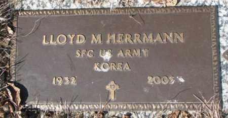 HERRMANN, LLOYD M. - Yankton County, South Dakota | LLOYD M. HERRMANN - South Dakota Gravestone Photos