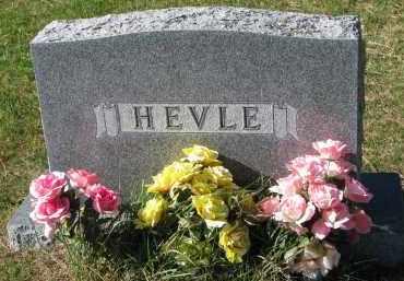 HEVLE, FAMILY STONE - Yankton County, South Dakota | FAMILY STONE HEVLE - South Dakota Gravestone Photos