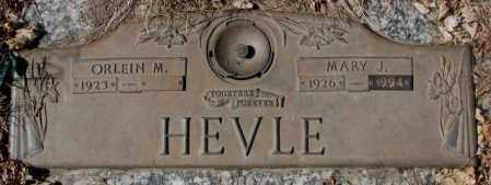 HEVLE, ORLEIN M. - Yankton County, South Dakota | ORLEIN M. HEVLE - South Dakota Gravestone Photos