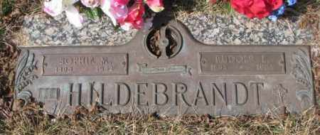 HILDEBRANDT, RUDOLF L. - Yankton County, South Dakota | RUDOLF L. HILDEBRANDT - South Dakota Gravestone Photos