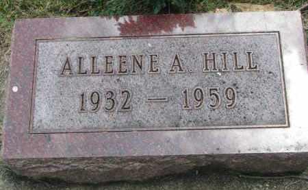 HILL, ALLEENE A. - Yankton County, South Dakota | ALLEENE A. HILL - South Dakota Gravestone Photos