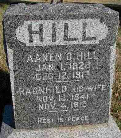 HILL, RAGNHILD - Yankton County, South Dakota | RAGNHILD HILL - South Dakota Gravestone Photos