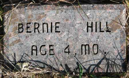 HILL, BERNIE - Yankton County, South Dakota | BERNIE HILL - South Dakota Gravestone Photos