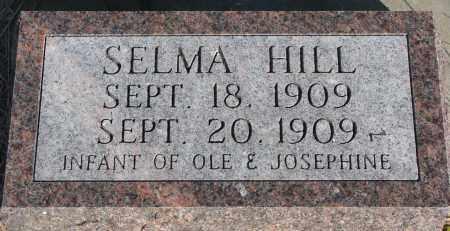 HILL, SELMA - Yankton County, South Dakota | SELMA HILL - South Dakota Gravestone Photos