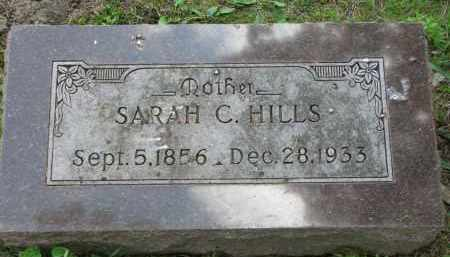 HILLS, SARAH C. - Yankton County, South Dakota | SARAH C. HILLS - South Dakota Gravestone Photos