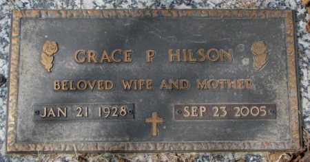 HILSON, GRACE P. - Yankton County, South Dakota | GRACE P. HILSON - South Dakota Gravestone Photos