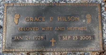 HILSON, GRACE P. - Yankton County, South Dakota | GRACE P. HILSON - South Dakota Gravestone Photos