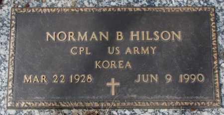 HILSON, NORMAN B. - Yankton County, South Dakota | NORMAN B. HILSON - South Dakota Gravestone Photos