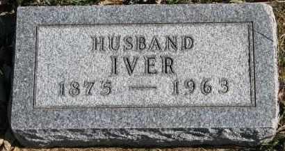 HINSETH, IVER - Yankton County, South Dakota | IVER HINSETH - South Dakota Gravestone Photos