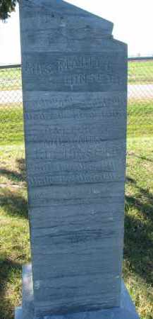 HINSETH, INFANT DAUGHTER - Yankton County, South Dakota | INFANT DAUGHTER HINSETH - South Dakota Gravestone Photos