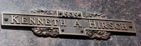 HIRSCH, KENNETH A. - Yankton County, South Dakota | KENNETH A. HIRSCH - South Dakota Gravestone Photos