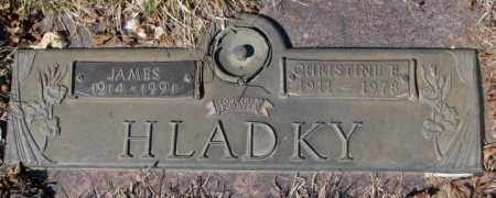 HLADKY, JAMES - Yankton County, South Dakota | JAMES HLADKY - South Dakota Gravestone Photos