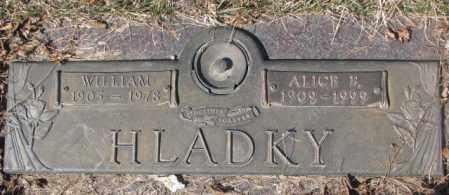 HLADKY, WILLIAM - Yankton County, South Dakota | WILLIAM HLADKY - South Dakota Gravestone Photos