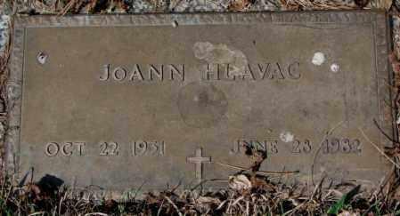 HLAVAC, JOANN - Yankton County, South Dakota   JOANN HLAVAC - South Dakota Gravestone Photos