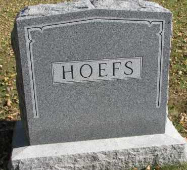 HOEFS, FAMILY STONE - Yankton County, South Dakota   FAMILY STONE HOEFS - South Dakota Gravestone Photos
