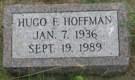 HOFFMAN, HUGO F. - Yankton County, South Dakota | HUGO F. HOFFMAN - South Dakota Gravestone Photos