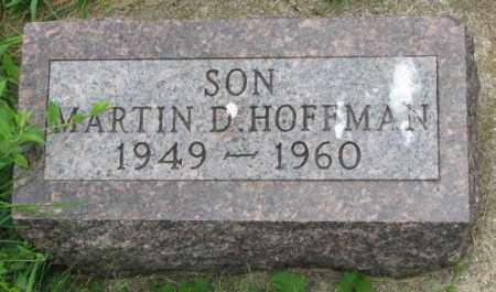 HOFFMAN, MARTIN D. - Yankton County, South Dakota   MARTIN D. HOFFMAN - South Dakota Gravestone Photos