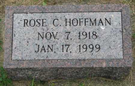 HOFFMAN, ROSE C. - Yankton County, South Dakota | ROSE C. HOFFMAN - South Dakota Gravestone Photos