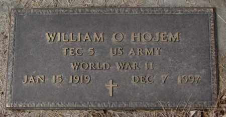 HOJEM, WILLIAM O. (WW II) - Yankton County, South Dakota | WILLIAM O. (WW II) HOJEM - South Dakota Gravestone Photos