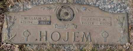 HOJEM, AGNES M. - Yankton County, South Dakota | AGNES M. HOJEM - South Dakota Gravestone Photos