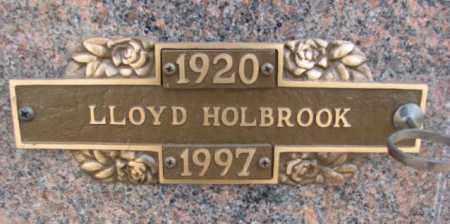 HOLBROOK, LLOYD - Yankton County, South Dakota | LLOYD HOLBROOK - South Dakota Gravestone Photos