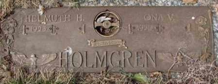 HOLMGREN, ONA V. - Yankton County, South Dakota   ONA V. HOLMGREN - South Dakota Gravestone Photos