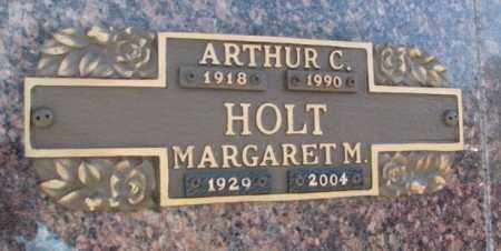 HOLT, ARTHUR C. - Yankton County, South Dakota   ARTHUR C. HOLT - South Dakota Gravestone Photos