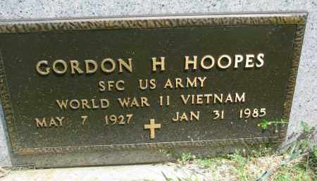 HOOPES, GORDON H. (MILITARY) - Yankton County, South Dakota | GORDON H. (MILITARY) HOOPES - South Dakota Gravestone Photos