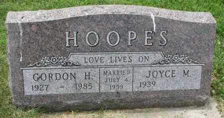 HOOPES, GORDON H. - Yankton County, South Dakota | GORDON H. HOOPES - South Dakota Gravestone Photos