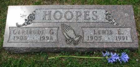HOOPES, GERTRUDE G. - Yankton County, South Dakota   GERTRUDE G. HOOPES - South Dakota Gravestone Photos