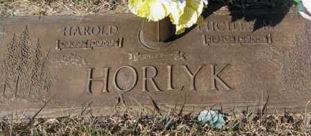 HORLYK, HAROLD - Yankton County, South Dakota | HAROLD HORLYK - South Dakota Gravestone Photos