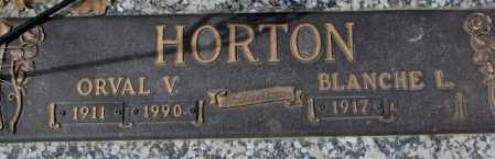 HORTON, ORVAL V. - Yankton County, South Dakota | ORVAL V. HORTON - South Dakota Gravestone Photos