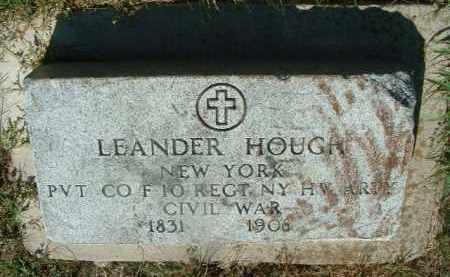 HOUGH, LEANDER - Yankton County, South Dakota   LEANDER HOUGH - South Dakota Gravestone Photos