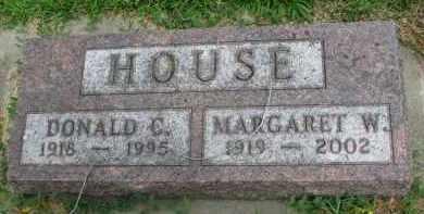 HOUSE, MARGARET W. - Yankton County, South Dakota   MARGARET W. HOUSE - South Dakota Gravestone Photos